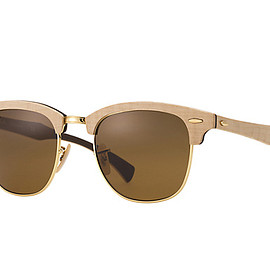 Ray-Ban - RB3016M Clubmaster Wood