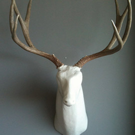 fennofivecoat - Animals of Distinction Deer bust medium