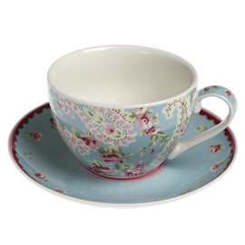 DotComGiftShop - Paisley Park Tea Cup And Saucer