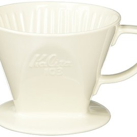 Kalita - Kalita Ceramic Coffee Dripper 103 - Lotto White # 03001 (japan import)