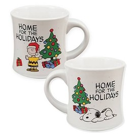 Peanuts Home for the Holidays Mug