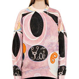 Acne - Beta H.K Black / Pink Print