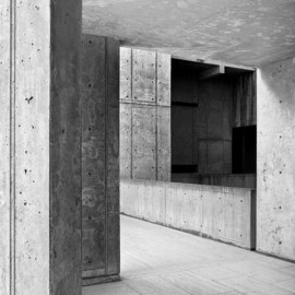 Louis Kahn - Salk Stair Tower Thresholds.Photo:Naquib Hossain