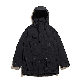 ENGINEERED GARMENTS - Field Parka-Nyco Ripstop-Black