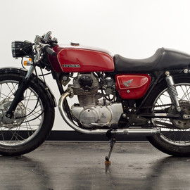 Honda - CL350 1973 by Jonathan Wood