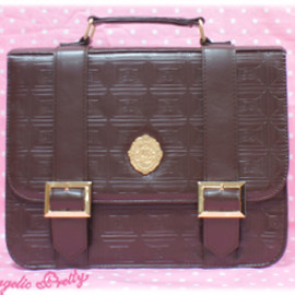 Angelic Pretty - Melty Royal Chocolate プレート付3wayリュック