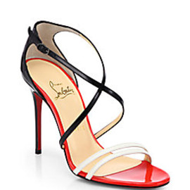 Christian Louboutin - Gwynitta Patent Leather Sandals
