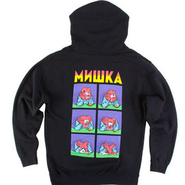 MISHKA - STONED TO THE BONE PULLOVER HOODIE