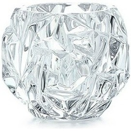 Tiffany & Co. - Rock-cut Votive in Crystal contemporary candles and candle holders