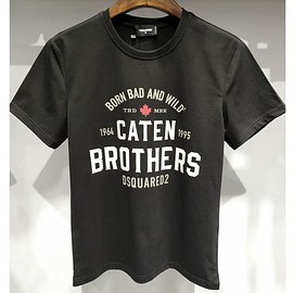 DSQUARED2 - Dsquared2 SS2018 Mens T-Shirt DT210 Caten BROTHERS Black