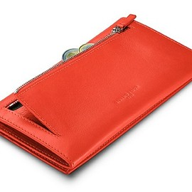 Giorgio FedonLadies Wallet Orange Leather - Ladies Wallet Orange Leather