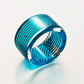 Paola Mirai - keyboard flexible film Cirkuita band ring