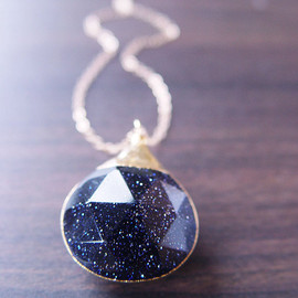 Midnight Sunstone - Midnight Sunstone Gold Necklace - Limited Edition