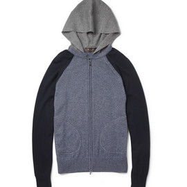 Loro Piana - Knitted Silk and Cashmere-Blend Hoodie