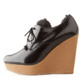 3.1 Phillip Lim - BEAU WEDGE FUR LINED SHOE