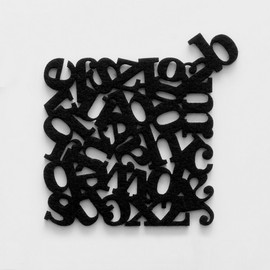 Little Factory - LETTERS COASTERS