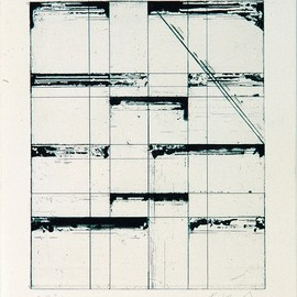 Brice Marden - Etching for Parkett, 1986