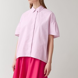 COS - VOLUMINOUS SHIRT WITH GATHERED SLEEVES