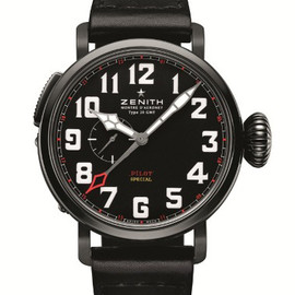 ZENITH - Pilot Montre d'Aéronef Type 20 GMT Red Baron
