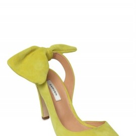 CARVEN - Suede Bow Sandals