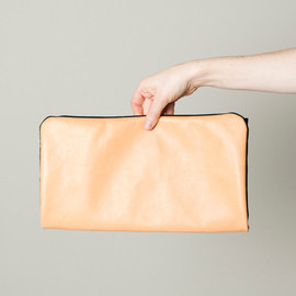 JF&SON - LEATHER CANVAS COMBO CLUTCH