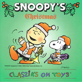 Classiks on Toys - Snoopy's Christmas Classiks on Toys