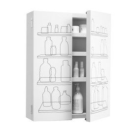 Freshwest, Authentics - Inside-Out Bathroom Cabinet