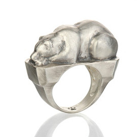 Untamed Jewels - Bear Ring