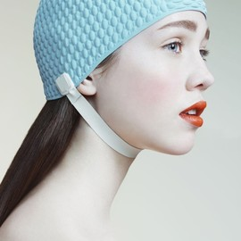 Bathing cap - baby blue