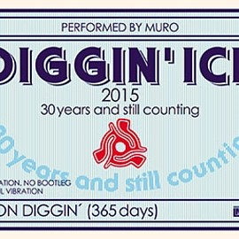 MURO - Diggin' Ice 2015 -30 years and still counting- Performed by MURO(カセット)