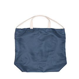ENGINEERED GARMENTS - LOFTMAN別注 Carry All Tote-Flight Sateen-Navy