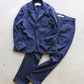 Curly - TRACK JACKET + TRACK TROUSERS / NAVY