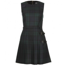 McQ Alexander McQueen - PLAID KILT STYLE DRESS