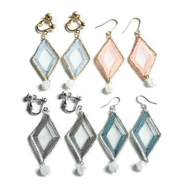 patterie - SHEER DIAMOND PIERCE / EARRING
