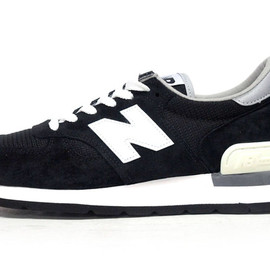 "new balance - M990 Black/White ""made in U.S.A."" ""LIMITED EDITION"""
