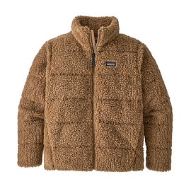 patagonia - M's Recycled High Pile Fleece Down Jacket, Bearfoot Tan (BRTA)