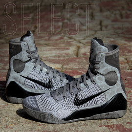 Nike - Kobe 9 Elite (Detail) - Grey/Black