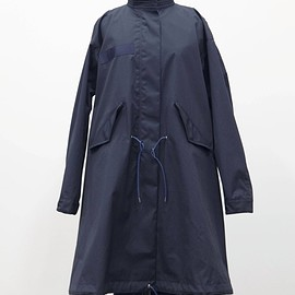 sacai - Cotton Nylon Oxford Coat