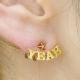 "ete - ■ete×一ツ山佳子 Collaborated Jewelry■ - Wrap colleltion - ""YEAH"""