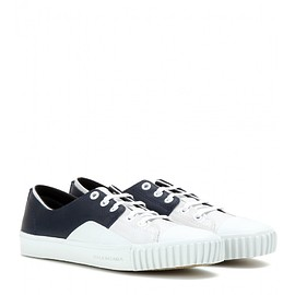 BALENCIAGA - Young leather sneakers