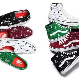 VANS - SUPREME × PLAYBOY × VANS 2014 SPRING/SUMMER COLLECTION