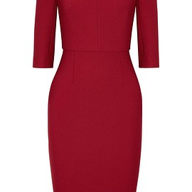 Roland Mouret - Etty stretch-crepe dress