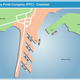 Panama - Port of Cristobal