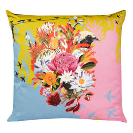 Liberty London - Bird Nestles Cushion, Laura Oakes