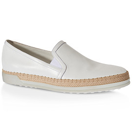 TOD'S - Leather Slip-ons