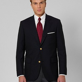 Brooks Brothers - Made in USA Three-Button Sack 1818 Blazer