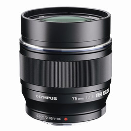 OLYMPUS - M.ZUIKO DIGITAL ED 75mm F1.8(Black)