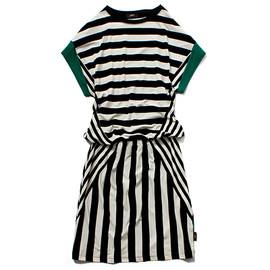 STUSSY WOMEN - Mix Stripe Dress