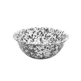 CROW CANYON HOME - Grey/White Marble Cereal Bowls