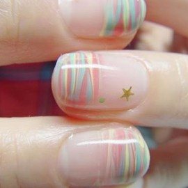 [苺]Wild Strawberries Nail